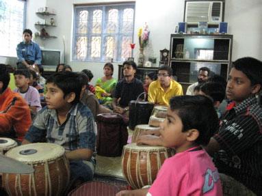 Tabla Maestro - Sajal Karmakar: Teacher